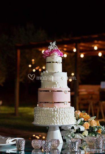 S&S Wedding cake