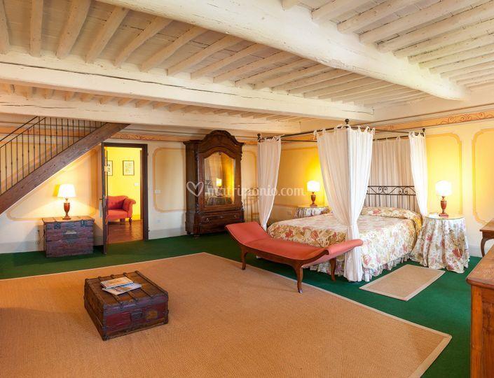 Master room a villa Buonvisi