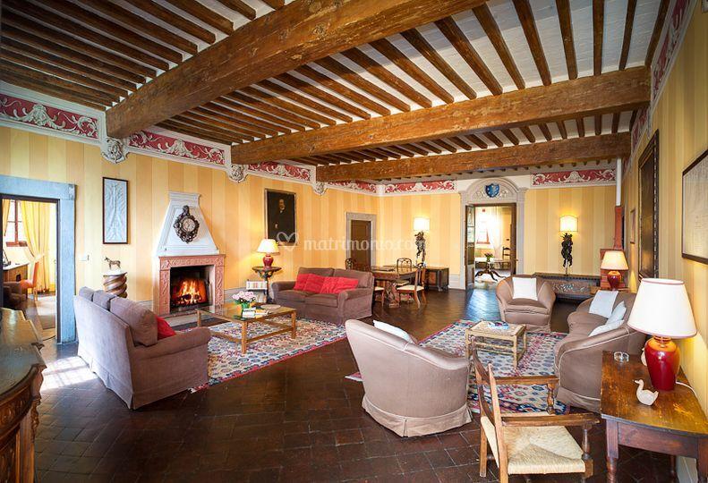 Il salotto di villa Buonvisi