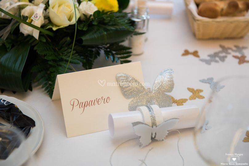 Wedding farfalle