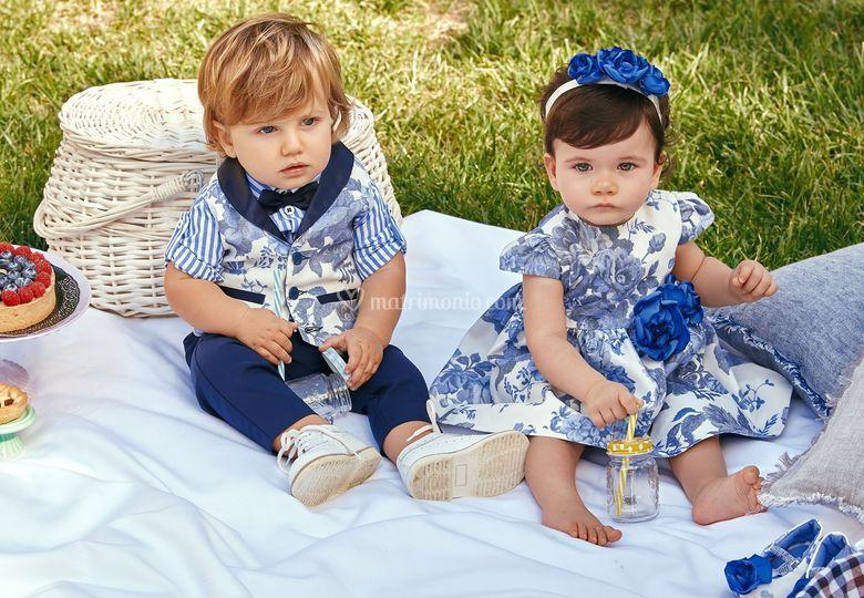 La cerimonia per i neonati