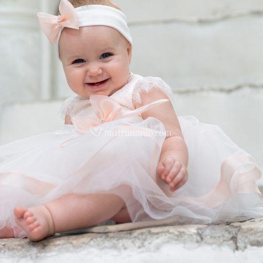La cerimonia per la neonata
