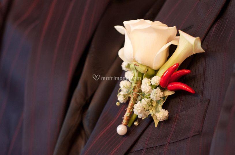 Boutonnnière sposo
