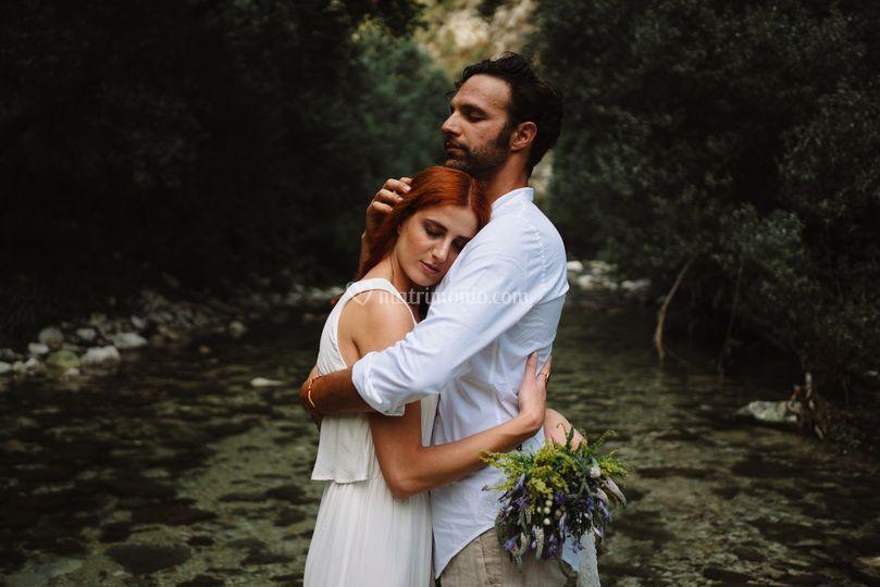 Matrimonio sul fiume Irminio