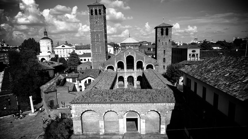 Drone Sant'Ambrogio Milano