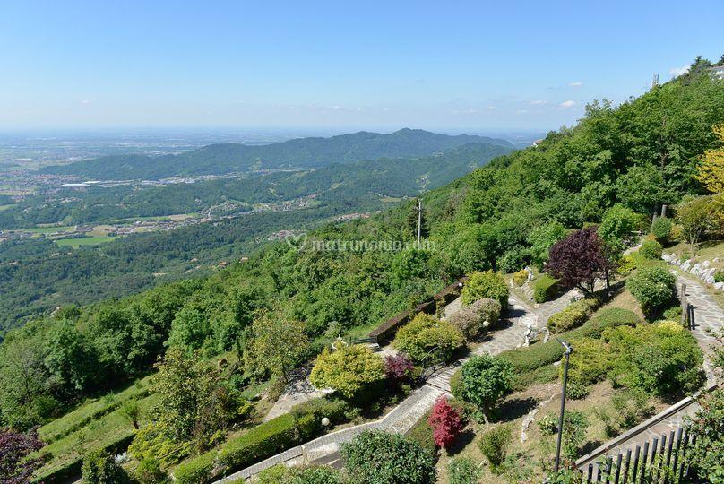 Vista sui giardini