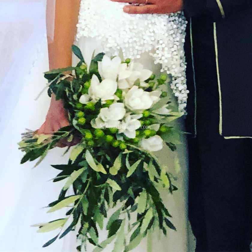Curcuma Bouquet Sposa.Bouquet Curcuma E Ulivo Di Fioreria Padre Pio Foto 29