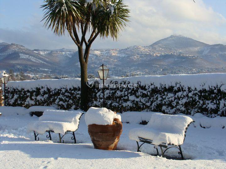 In inverno....che magia!!
