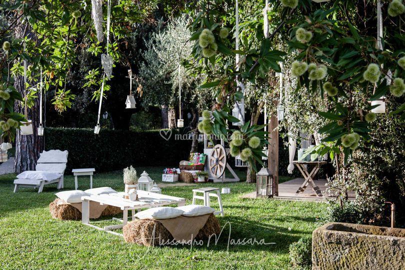 Vecchio podere for Allestimento giardino