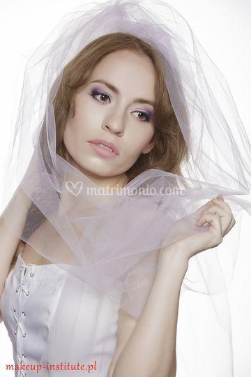 Trucco sposa tonalita viola