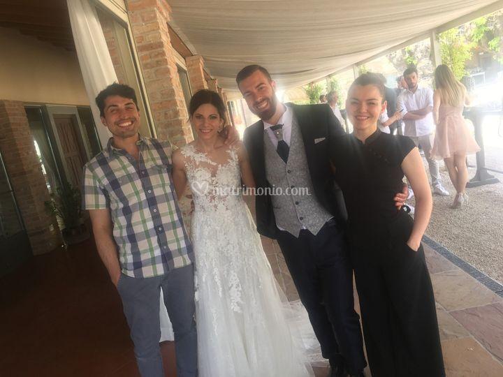 Con Francesca e Diego 6/19