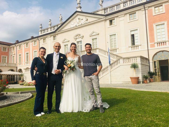 Con Francesca e Matteo 10/19