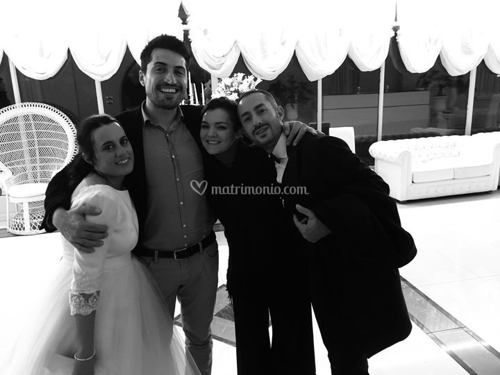 Con Francesca ed Emanuel 11/19