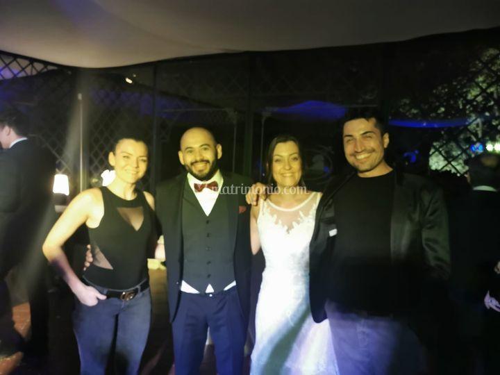 Con Laura ed Enrique 10/19