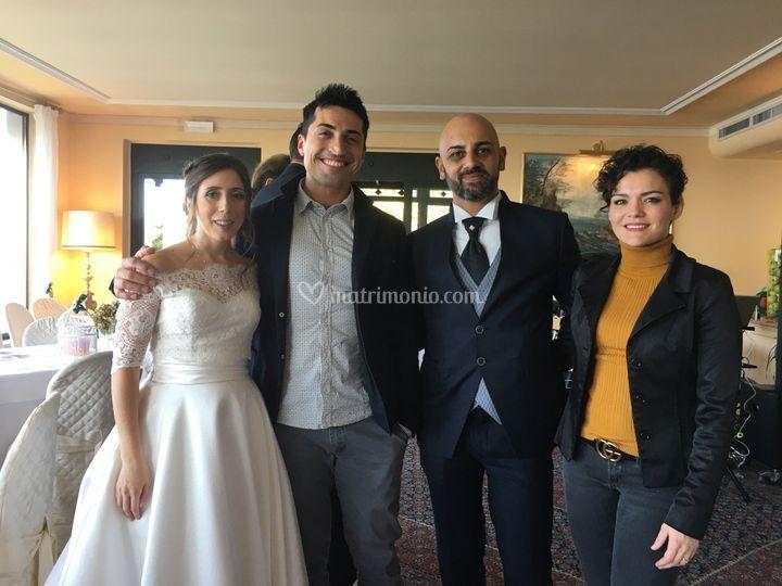 Con Luisa e Giuseppe 10/19