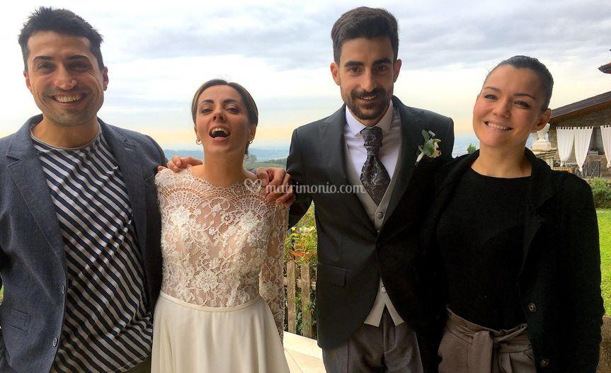 Con Paola e Stefano 10/19