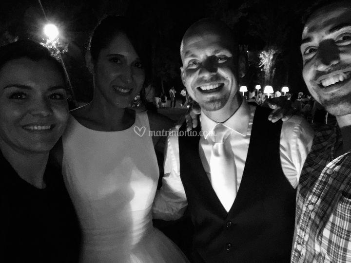 Con Sara e Mattia 9/20