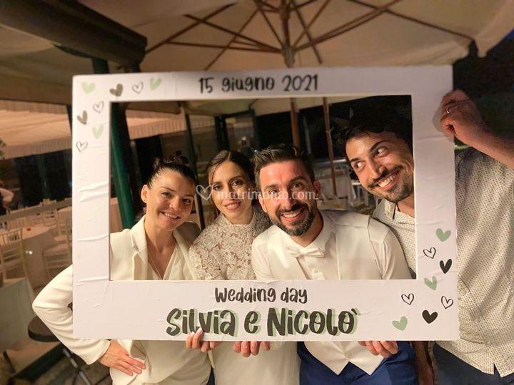 Con Silvia e Nicolò 6/21