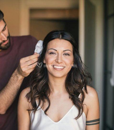 Gianluca Lanciai freelance hairstylist