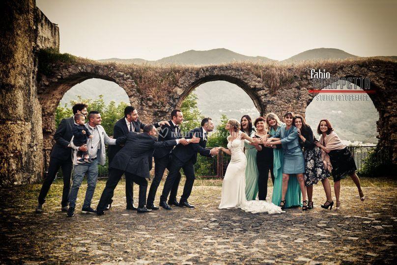 Wedding in Torano Castello