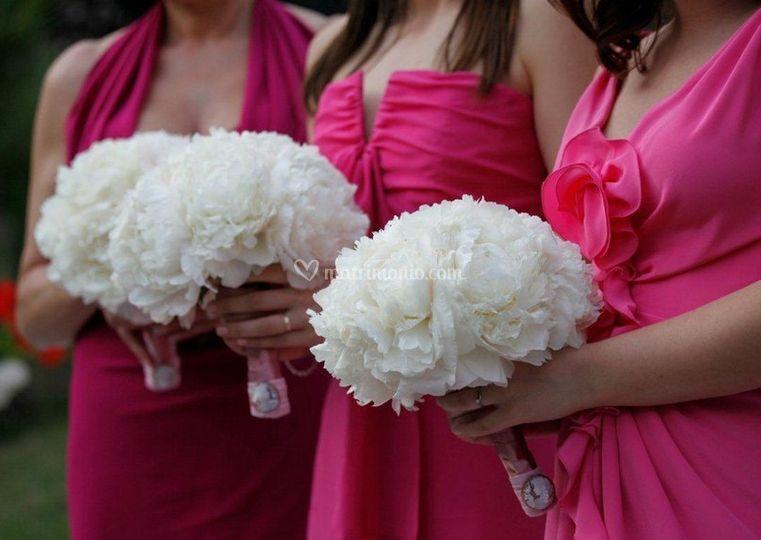 Bouquet per le damigelle