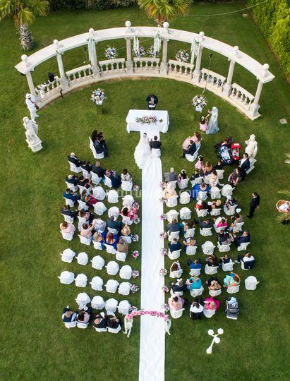 Una cerimonia emozionante