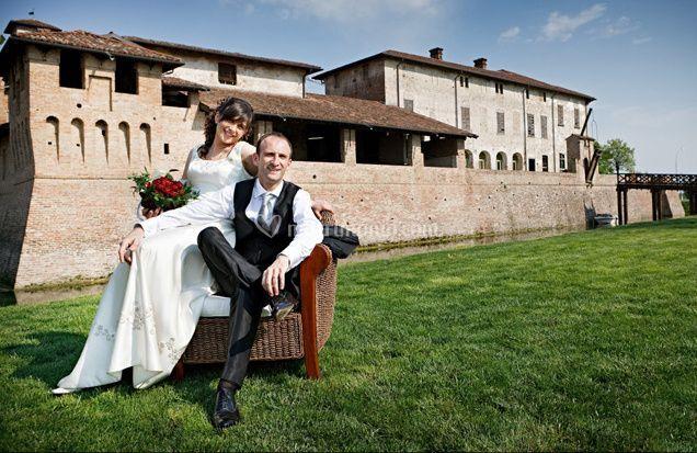 Sposi presso La Corte Berghemina