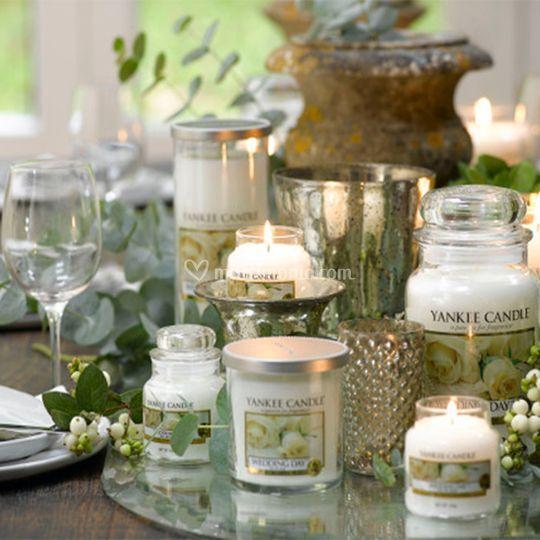 Matrimonio Tema Yankee Candle : Yankee candle wedding day di irene bomboniere foto