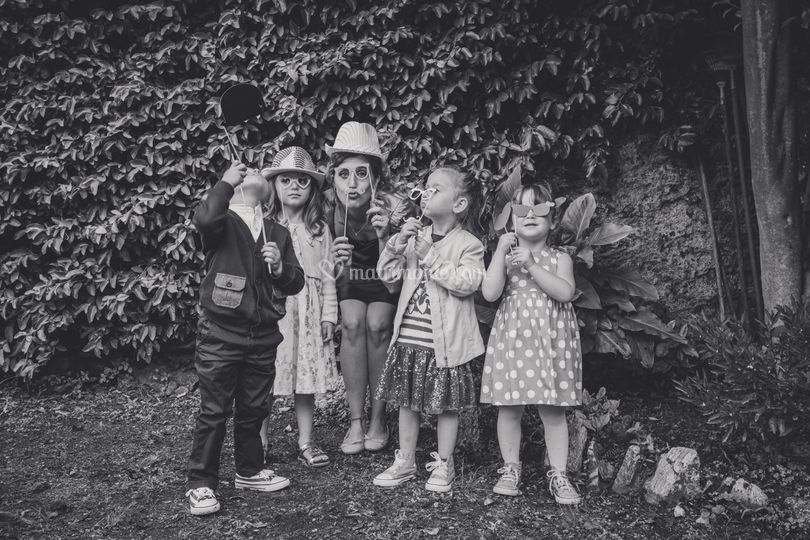 Photobooth e feste bimbi