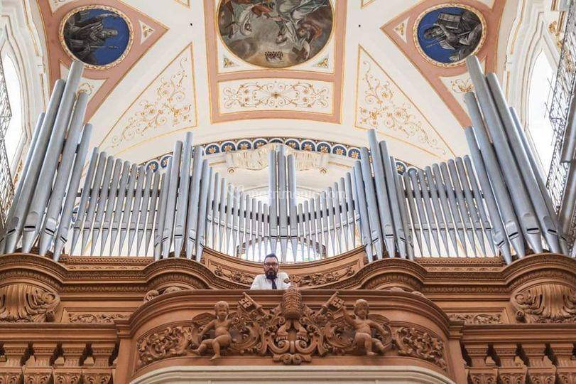 Chiesa organo liturgico