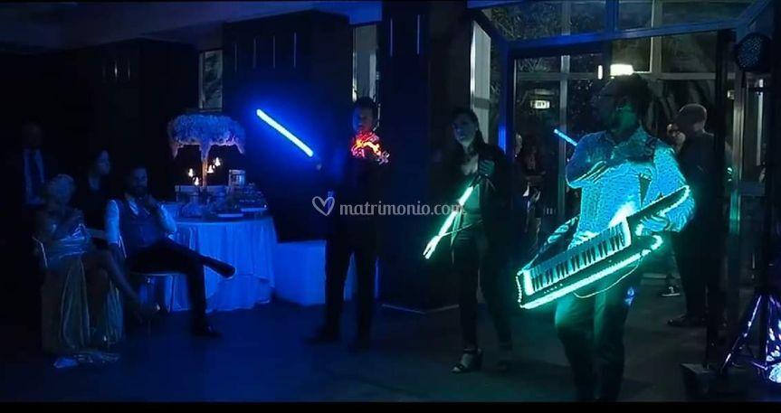 Music led show