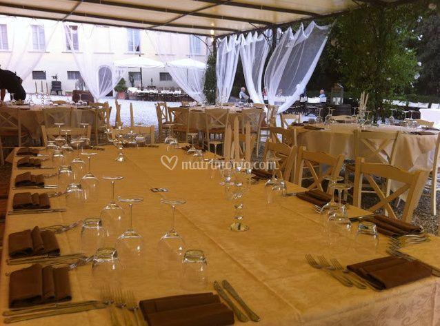 Ristoranti Matrimonio Toscana : Cerimonie all aperto di ristorante i secoli foto