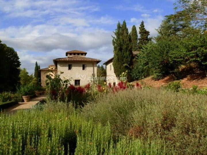 Villa calcinaia - Giardino all italiana ...