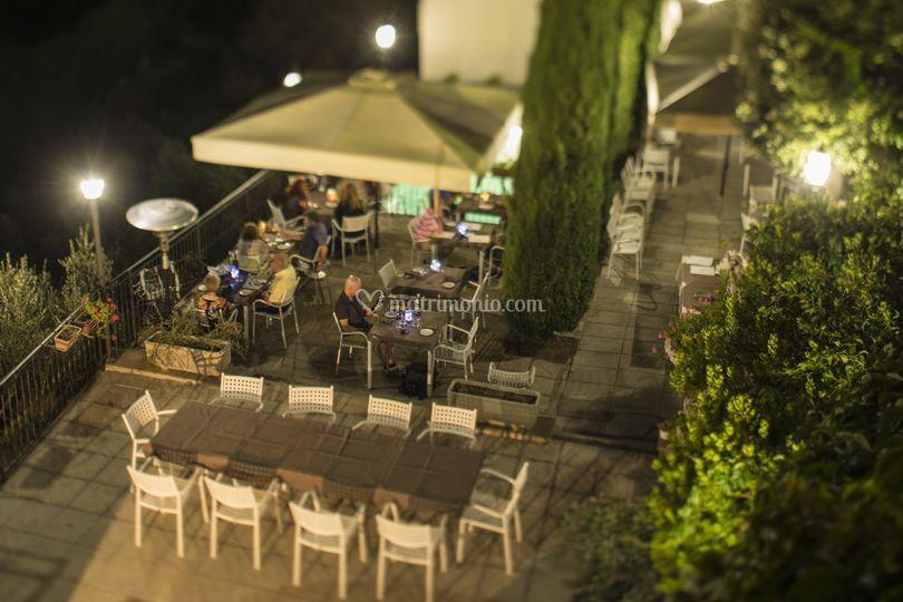 Cena in terrazza 2