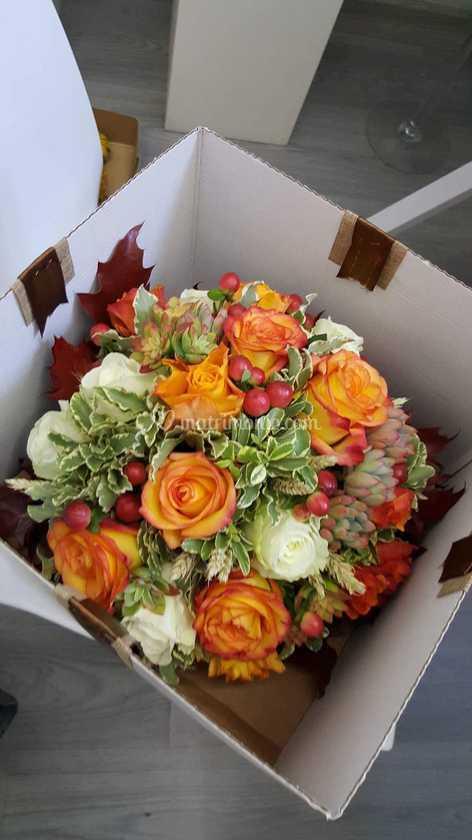 Mazzo Di Fiori Magico.Bouquet Sposa Autunnale Di Magia Dei Fiori Foto 46