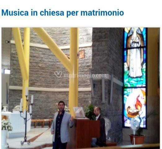 Musica in chiesa per matrimoni