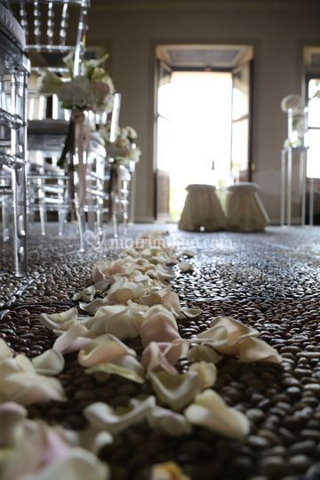 Tappeto di petali