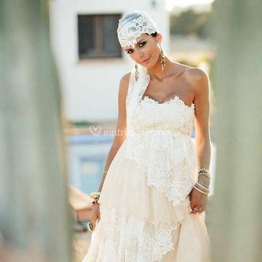 Abito sposa su misura Vesna