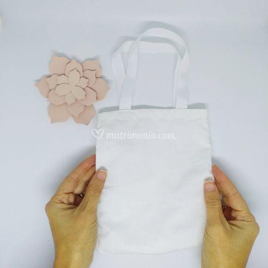 Mini borsa in cotone