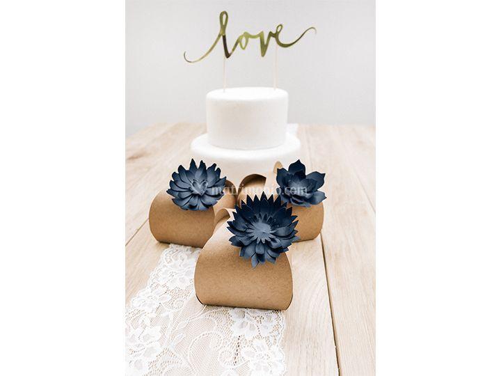 Scatolina e cake topper