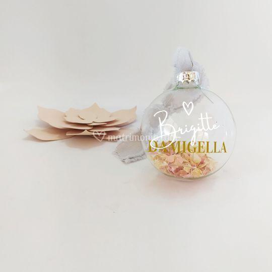 Pallina Natalizia Damigella