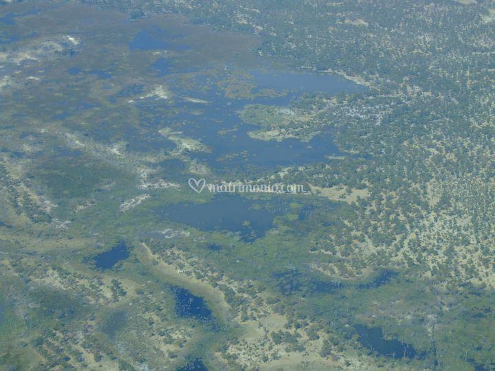 Delta dell Okawango Botswana