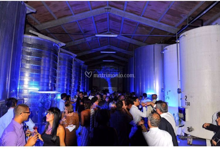Vernissage in cantina