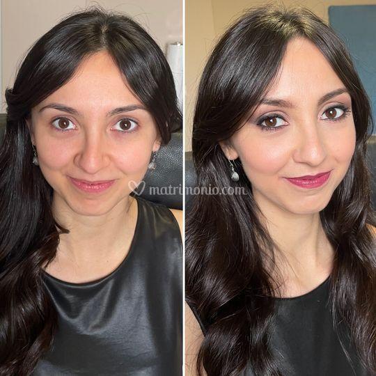 Giorgia prima e dopo