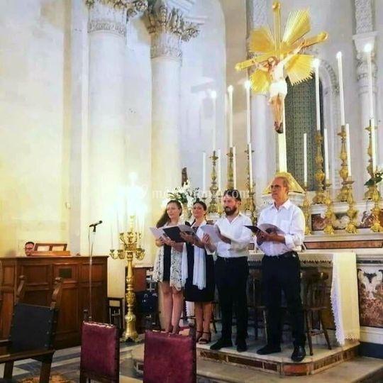 Quartetto coro e Organo