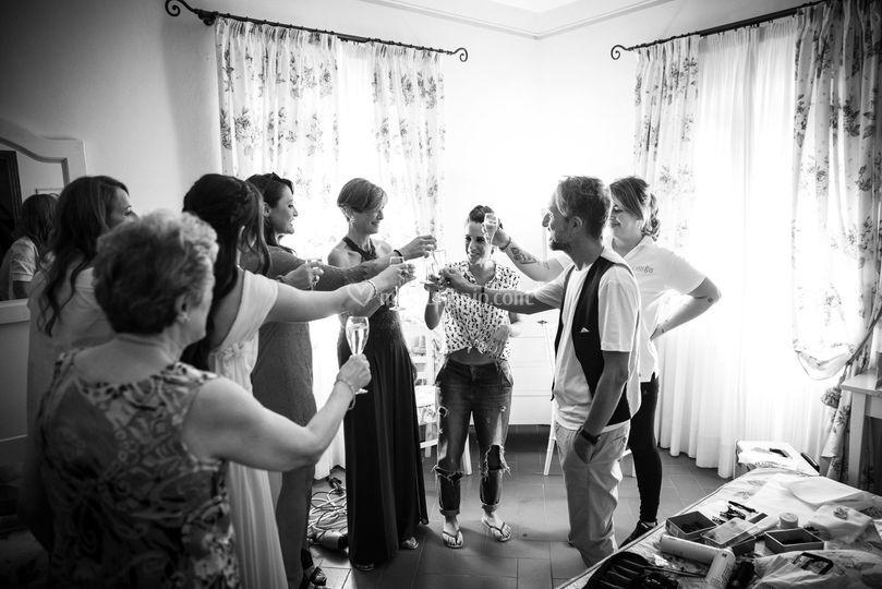 Il Brindisi pre matrimoniale