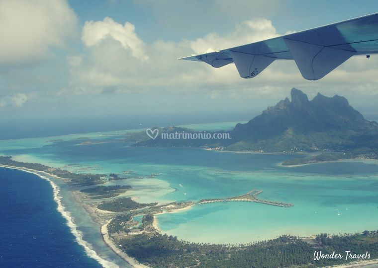Arrivo in Polinesia Francese