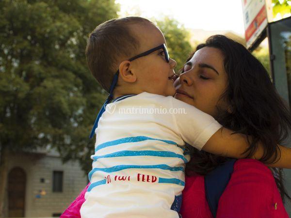 Foto ritratto - Mamma e Figlio