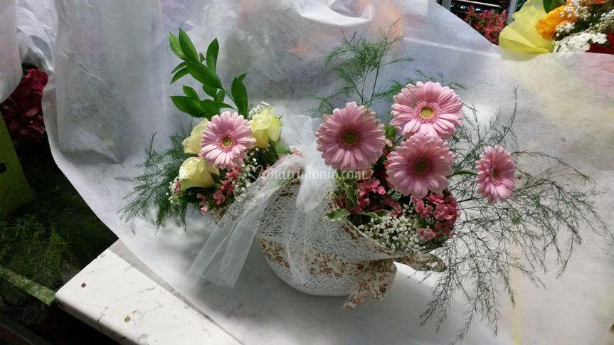 Cappellino fiorito