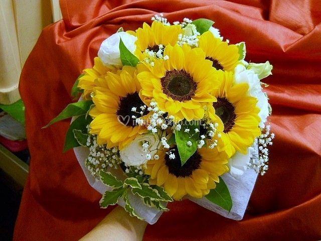 Matrimonio Fiori Girasole : Quadri e fiori